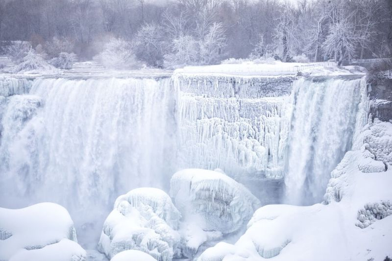 Niagara Falls - Places to visit in Canada in winter