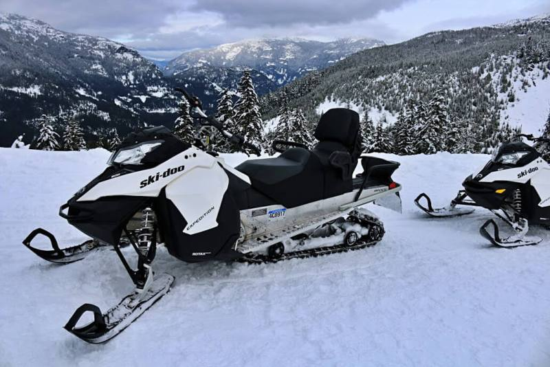 Whistler - Places to visit in Canada in winter