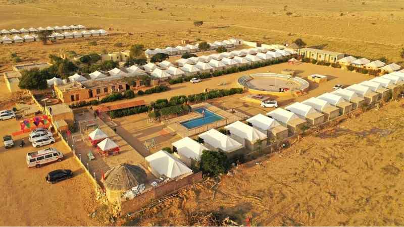 Country Side Resort - Luxury Desert Camps In Jaisalmer