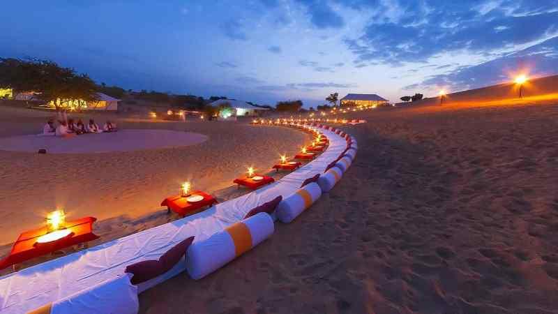 Samsara Desert Camp - Luxury Desert Camps In Jaisalmer