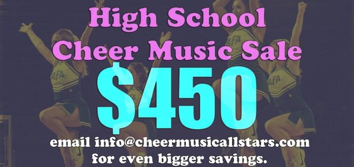 High School Cheer Music 2016