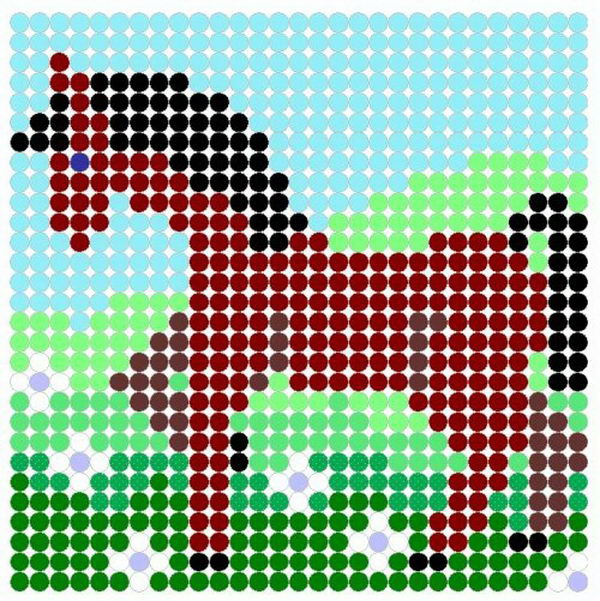 Templates Art Pixel Pony Minecraft Pony