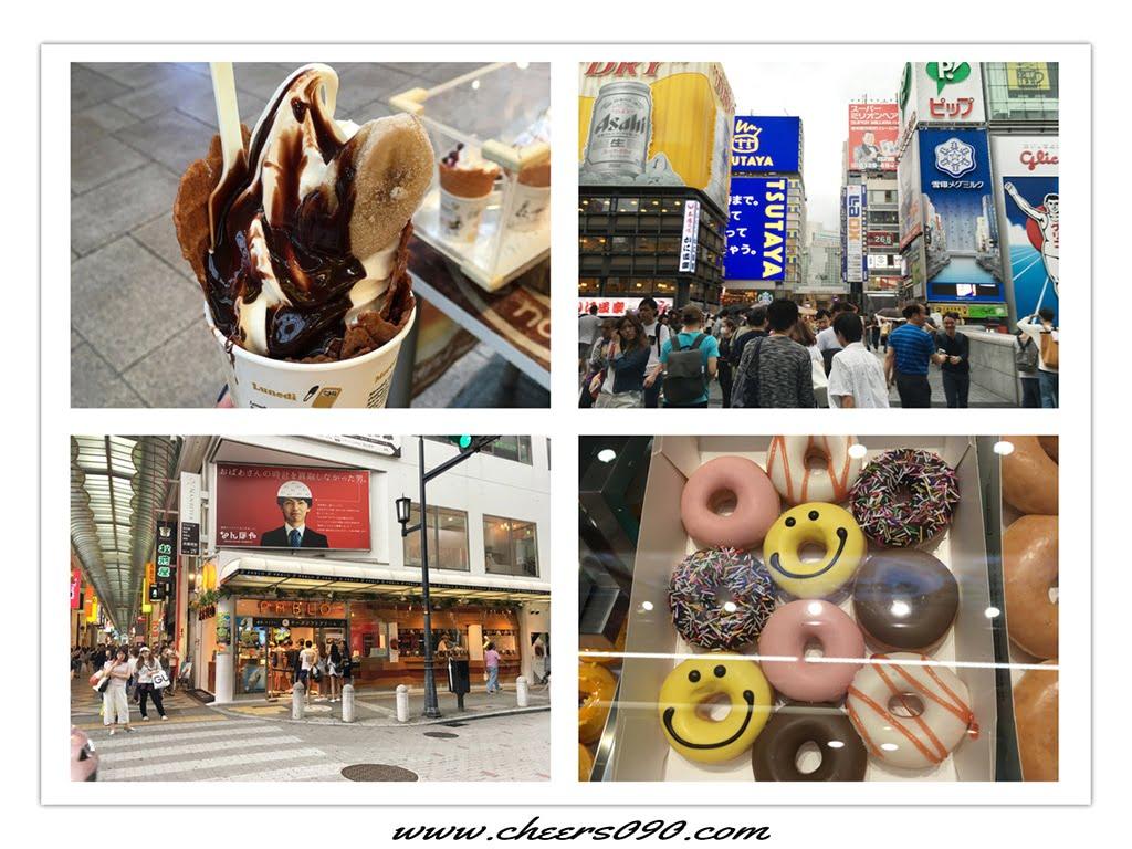 日本大阪自由行♪沒出國也可以逛街,心齋橋、難波實地商家介紹篇