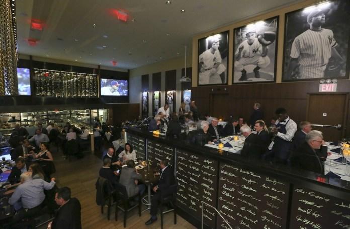 NY Yankee's Steakhouse in New York, Wednesday, April 6, 2016. (Photo/Stuart Ramson)
