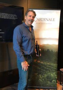 Chris Carpenter of Cardinale Wines
