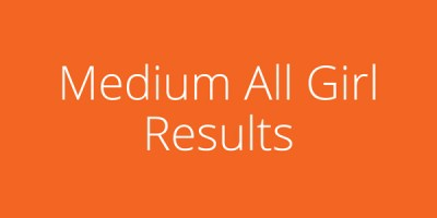 Cheer Bowl Medium All Girl Results