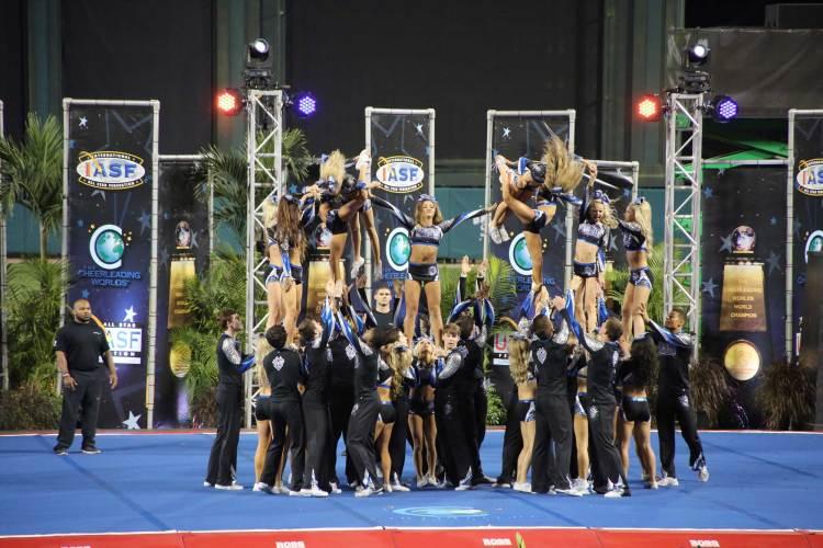 Cheer Athletics Cheetahs Finals Worlds 2016