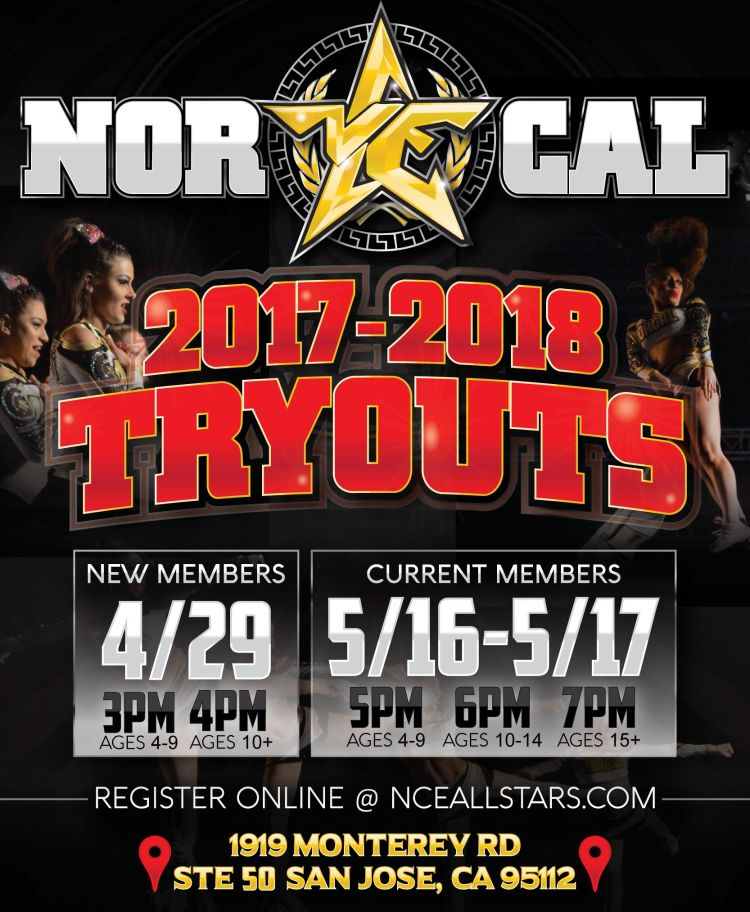 NorCal Elite Tryouts 2017