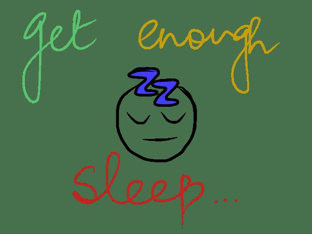 sad sleep