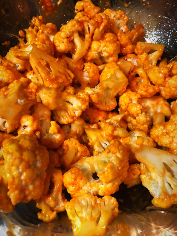cheery and charming_keto_brown buffalo bits cauliflower_1