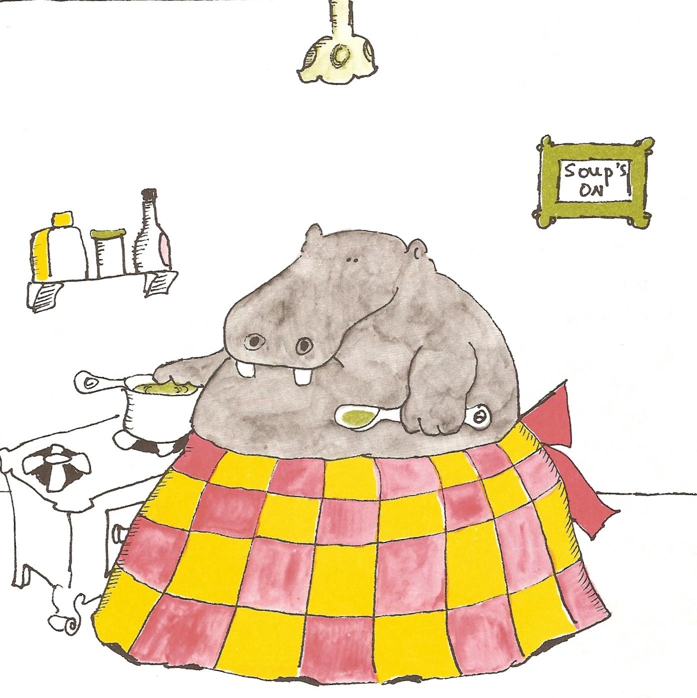 Childhood Hippos A Cheery Beggar