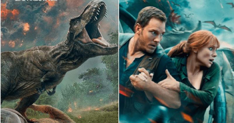 Indoraptor, el espantoso dinosaurio modificado genéticamente, atrae la atención en el nuevo largometraje de Jurassic World 2