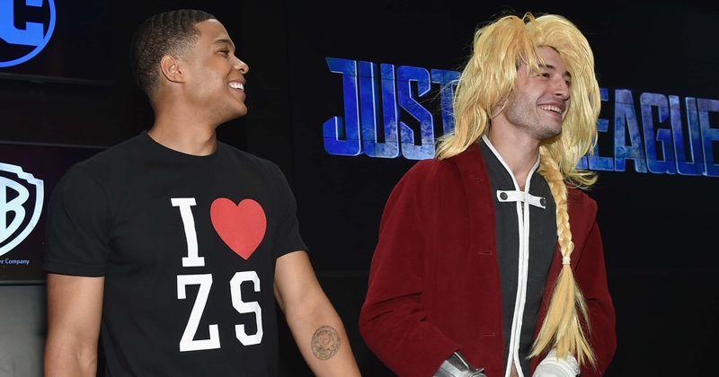 Ezra Miller y Ray Fisher revelan que superhéroes les gustaría vestirse en el MCU