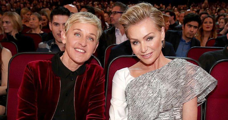 Ellen Degeneres And Portia De Rossi Celebrate Their 10