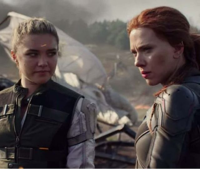 Black Widow Scarlett Johansson Stuns As She Suits Up As Suave