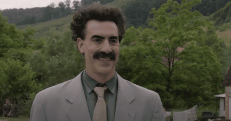 'Borat Subsequent Moviefilm': fecha de estreno, trama y todo lo que necesitas saber sobre la comedia de Sacha Baron Cohen