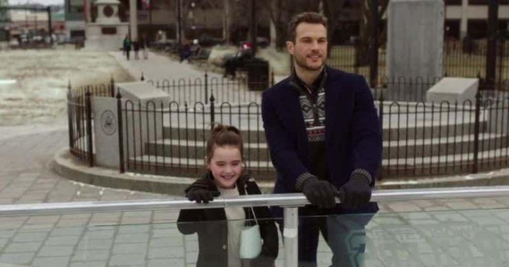 'Christmas on Ice': Conoce a Abigail Klein, Ryan Cooper y el resto del elenco de la película Lifetime Christmas
