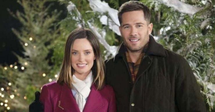 'Chateau Christmas': conoce a Merritt Patterson y Luke Macfarlane, el elenco del romance navideño de Hallmark