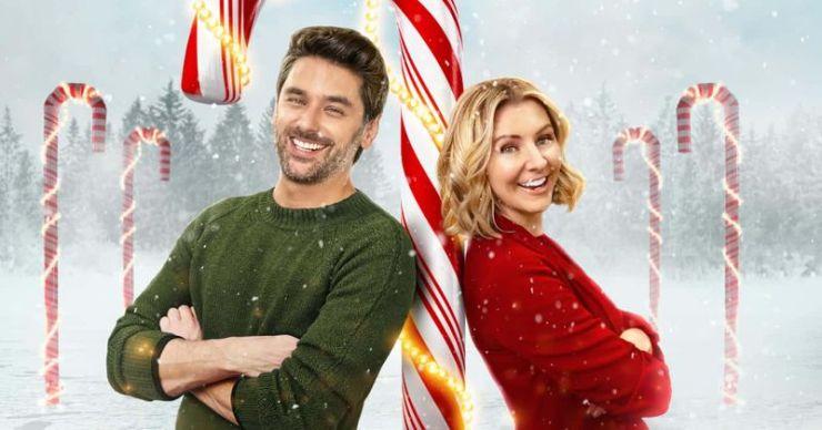 'Candy Cane Christmas': conoce a Beverly Mitchell, Mark Ghanime y el resto del elenco de la película Lifetime Christmas