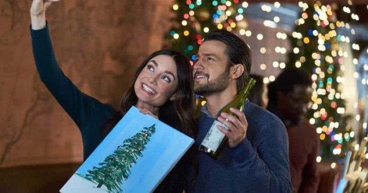 'On The 12th Date of Christmas': Conoce a Mallory Jansen, Tyler Hynes y el resto del elenco de la película navideña de Hallmark
