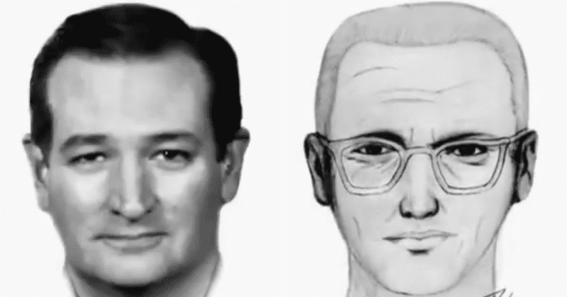 Ted Cruz juega con las líneas de Zodiac Killer cuando la identidad del asesino en serie
