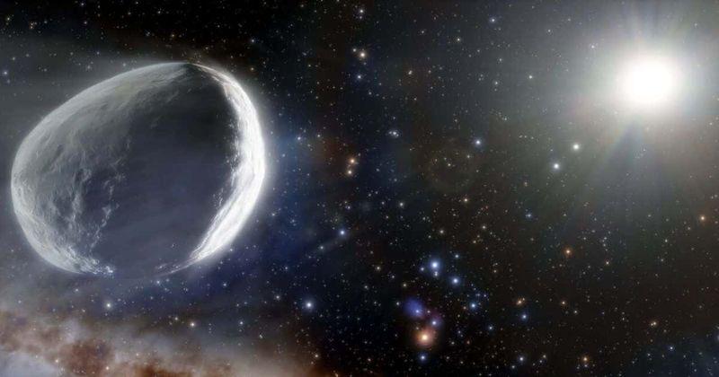 ¿Podría el cometa Bernardinelli-Bernstein golpear la Tierra?  Roca monstruosa zumbando hacia el sistema solar