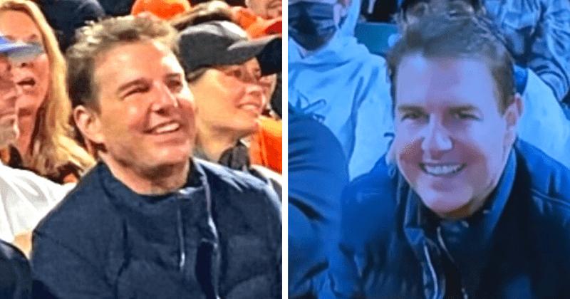 Tom Cruise se avergonzó de su cuerpo en Internet después de lucir una cara hinchada en el juego de béisbol