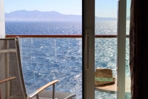 Unser Balkon der zum Entspannen einlädt