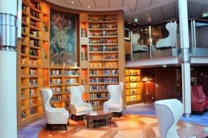 Die Bibliothek - ein echter Hingucker