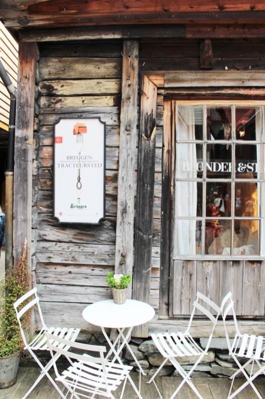 Restaurant in Bryggen