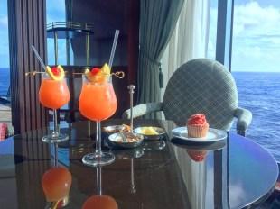 Köstliche Cocktails in der Horizon Lounge