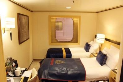 Queen Mary 2 Kurzkreuzfahrt_1_Kabine mit Atriumblick Atriumview