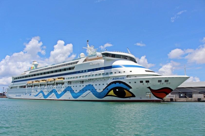 AIDAaura in Port Luois