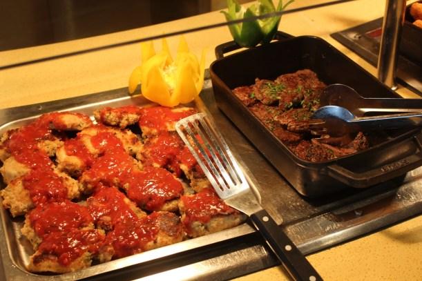 Abendessen im Calypso Buffetrestaurant