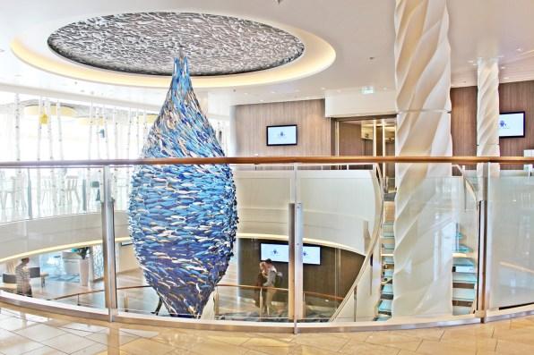 Zeichnet Tui Cruises aus: frisches Design