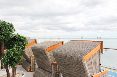 Seeeeehr gemütlich: Strandkörbe an Bord