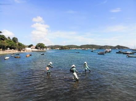 Fischerskulpturen in Burzios_MS Sirena von Oceania Cruises (8)
