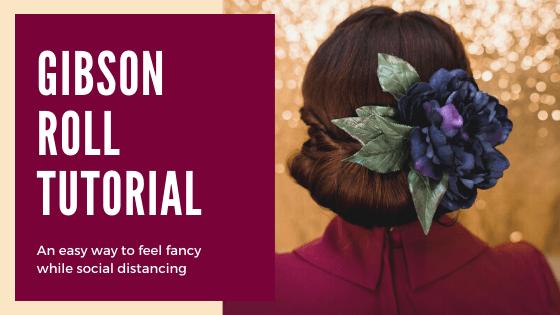 pin up hair, pinup hair, hair tutorial, 40s hair tutorial, 50s hair tutorial, gibson roll tutorial, gibson roll, vintage hair tutorial, vintage hair,