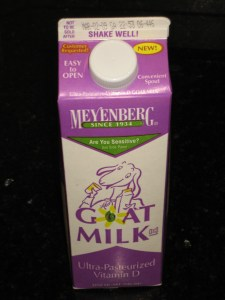 One US Quart, 0.9 Liters Ultra-Pasteurized & Homogenized USA Store Bought Goat's Milk - CheeseForum.org