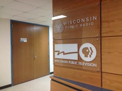 At WPR Sign