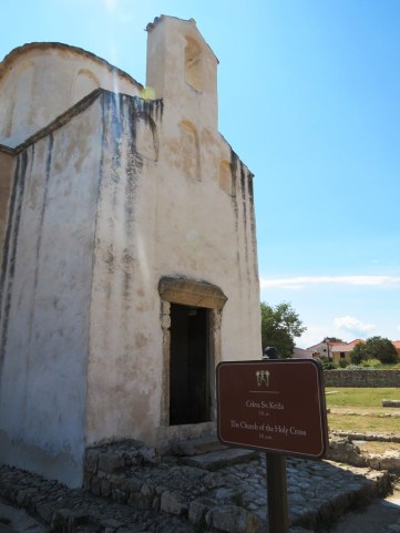 The church of St. Cross