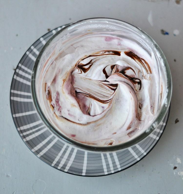 Ricotta ice cream