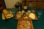 Cheese & Wine tasting with Mary's cheeses - best match: Cider and Tymsboro