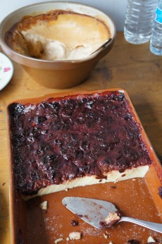 Teurgoule and Flan de prune