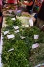 herbs on Zagreb market