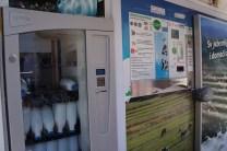 self-service milk machine