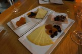 Cheese plate in cheese & wine bar Paradox in Split