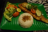 grilled red snapper in Balangan yellow sauce...omg