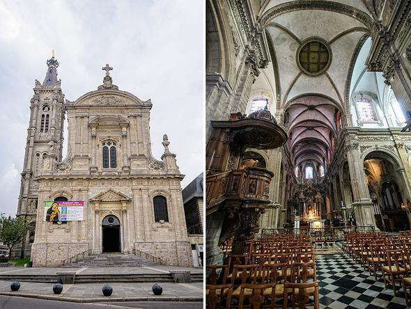 Famous Cathedral Belgium