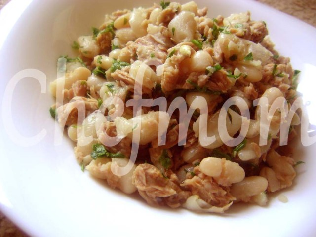 healthy white beans tuna salad